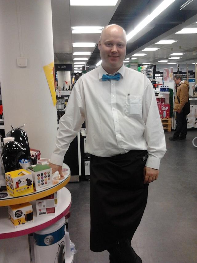 butiksdemonstratör elgiganten