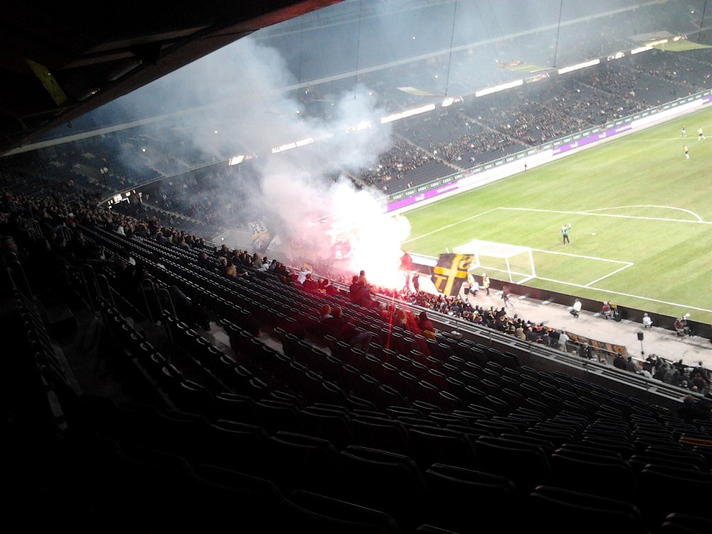 AIK-klacken Friends arena