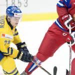 Tre kronor förlorade mot Ryssland i hockey-vm