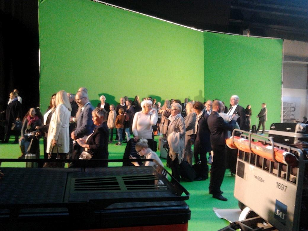 green screen skådespelare