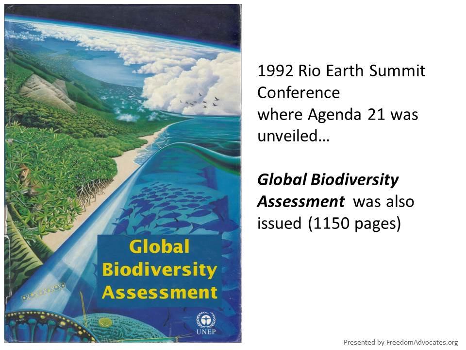 Global-Biodiversity-Assessment_förenta nationera_the wildlands project_globalism_smarta städer_agenda 2030_sverige_förenta nationena_hållbar utveckling_