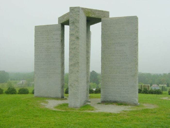 The_Georgia_Guidestones_new world order_ globalism_befolkningskontroll sverige_klimat och miljö_