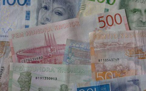 valuta kronor sverige kontanter